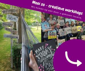 Creatieve workshops van MooiZo