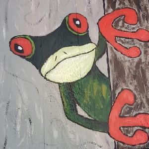 Schilderen op steigerhout